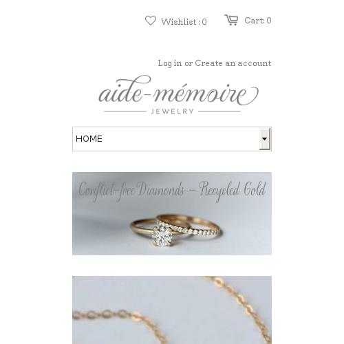 Aiden Memoire Jewelry