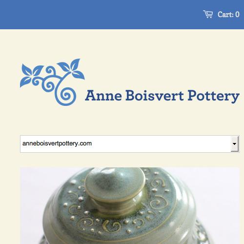 Anne Boisvert Pottery