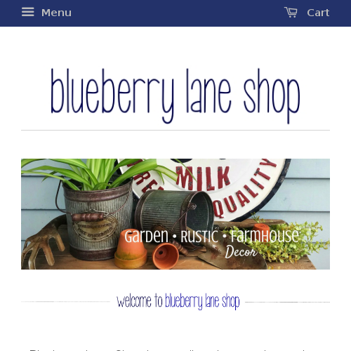 Blueberry Lane Shop