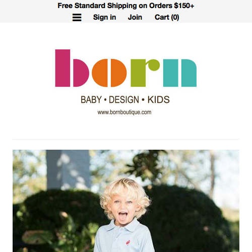Born Childrens Boutique