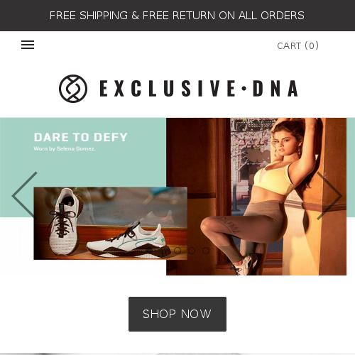 EXCLUSIVE DNA