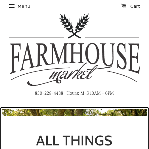 Farmhouse Market TX