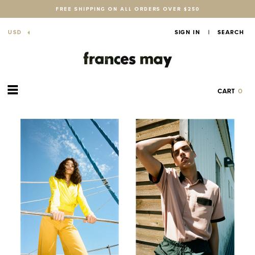 Frances May