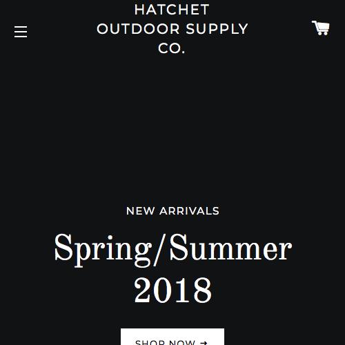 Hatchet Outdoor Supply Co.