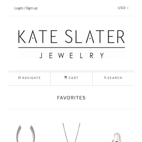 Kate Slater Jewelry