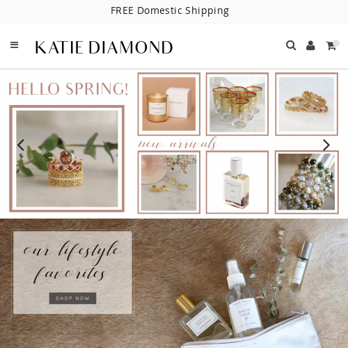 Katie Diamond Jewelry