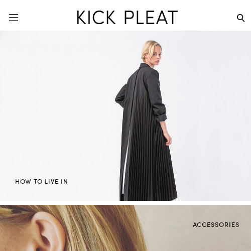 KICK PLEAT