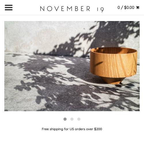 November 19 Shop