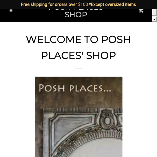 Posh Places Shop