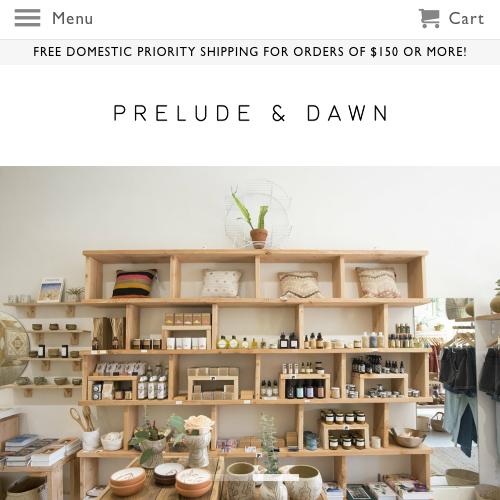 Prelude & Dawn