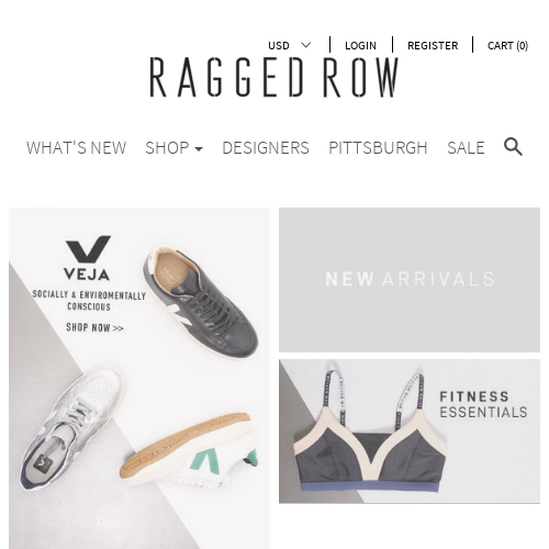 Ragged Row