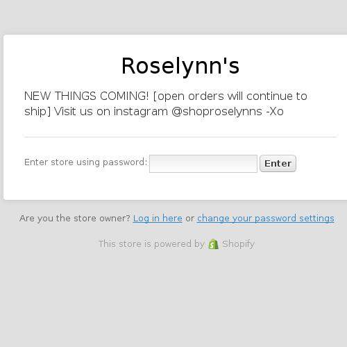Roselynn's
