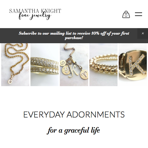 SAMANTHA KNIGHT fine jewelry