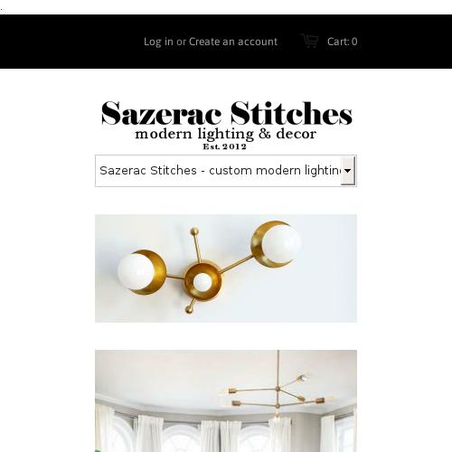 Sazerac and Stitches