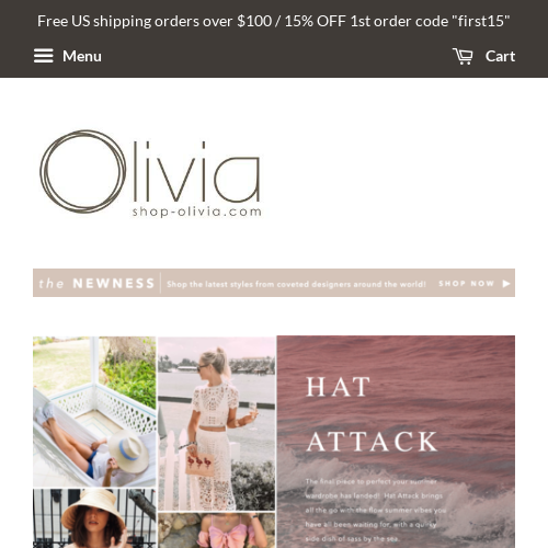 Shop Olivia