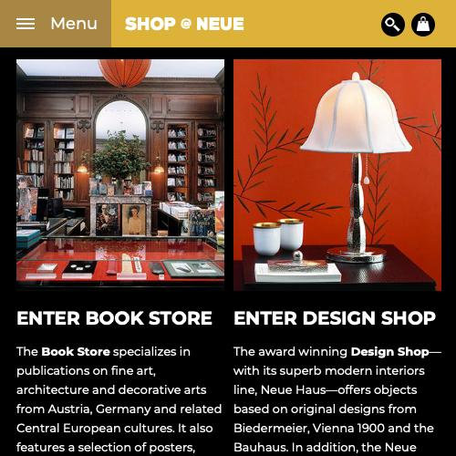 Neue Galerie Design Shop & Book Store