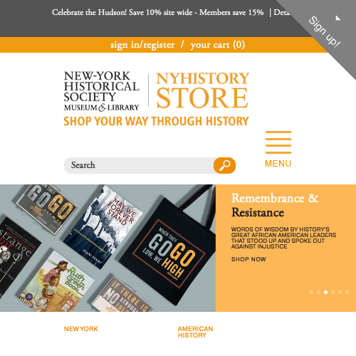 New-York Historical Society NYHistory Store
