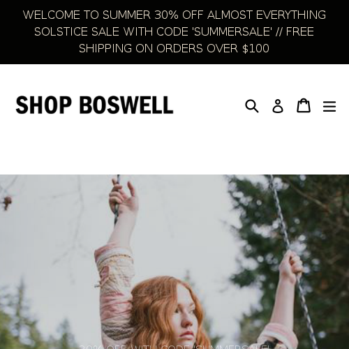 Shop Boswell