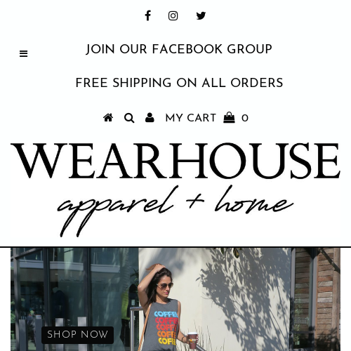 THE WEARHOUSE