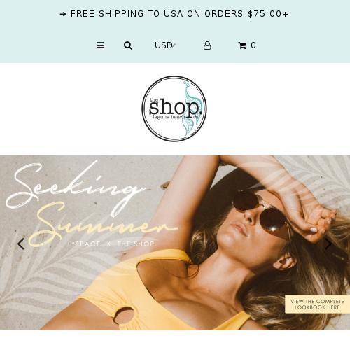 The Shop Laguna Beach