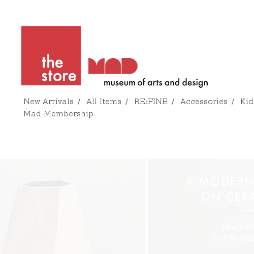 The Museum of Arts and Design Online Store