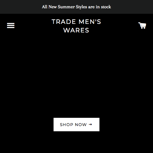 TRADE Men's Wares