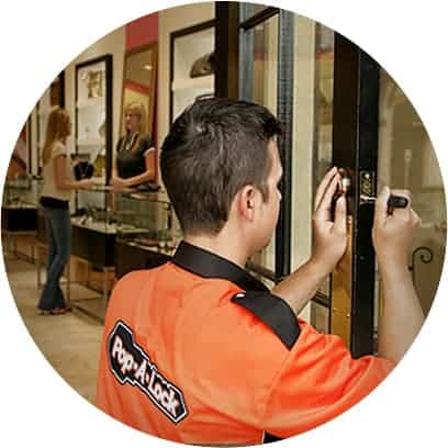 Commercial Locksmith Services - Commercial Locksmith - Rest easy knowing your lock repair or installation is done right. All Valley Pop-A-Lock® is the premier commercial locksmith in the nation. What that means to you is peace of mind knowing your business locks are repaired or installed correctly by knowledgeable technicians. You can trust All Valley Pop-A-Lock® to provide high quality, professional service 24/7. We carry and service nearly any lock used in commercial buildings today.
