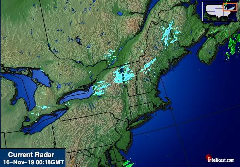 Northeastern Weather Radar Image