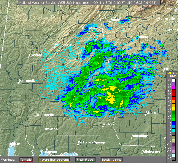 Local Radar Image