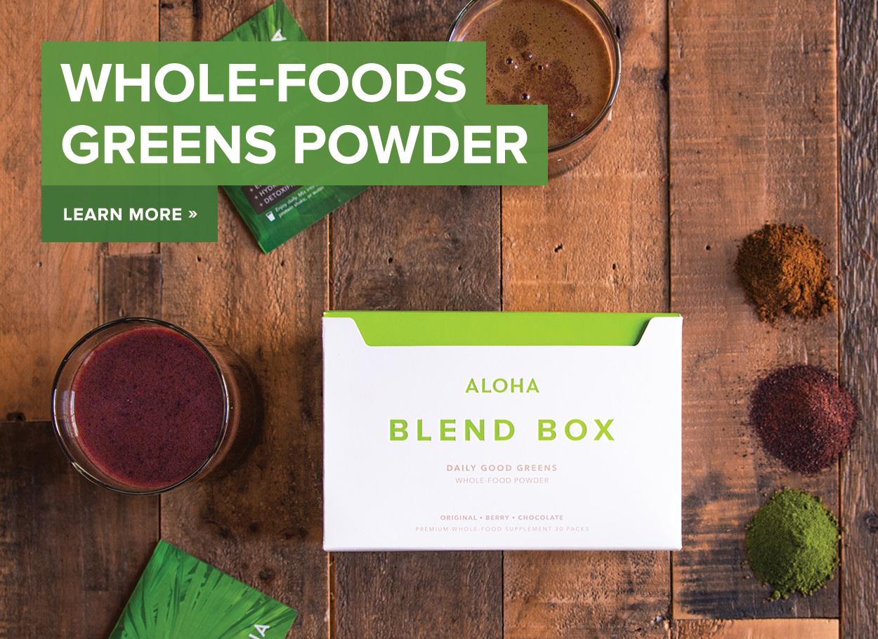 Vegan Protein Powder at ALOHA.