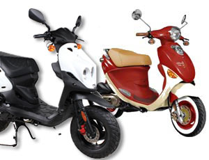Moped Rental (2 seater, Age 21+)
