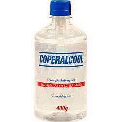 ÁLCOOL GEL ETILICO HIDRATADO COPERALCOOL 400g