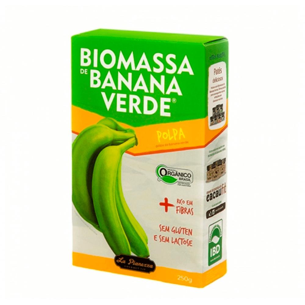 BIOMASSA BANANA VERDE POLPA 250G