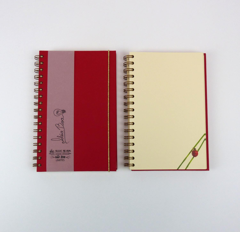 Caderno Joaninha