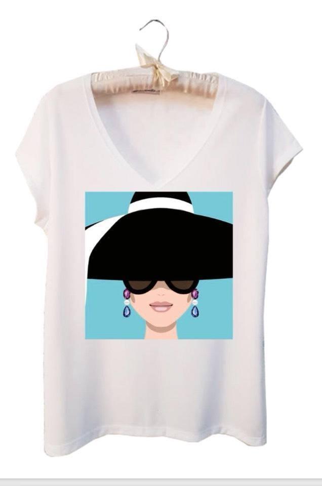 Camiseta  Malha Audrey