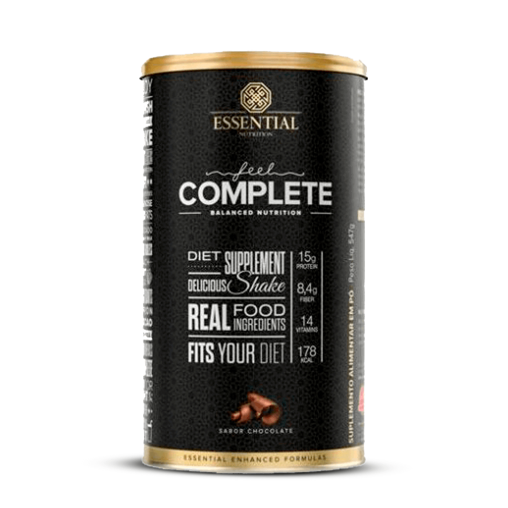 FEEL COMPLETE CHOCOLATE 547G ESSENTIAL NUTRITION