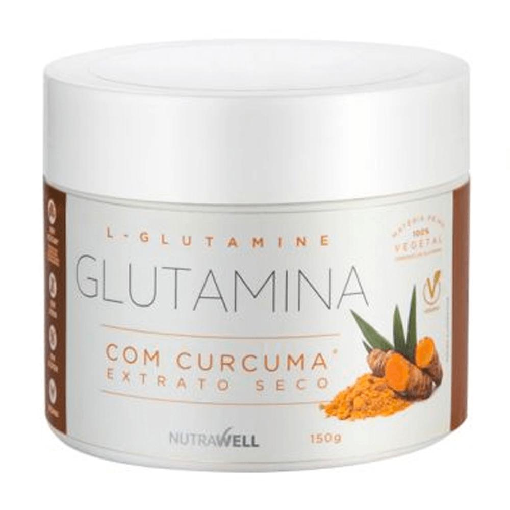 GLUTAMINA COM CÚRCUMA POTE COM 150g