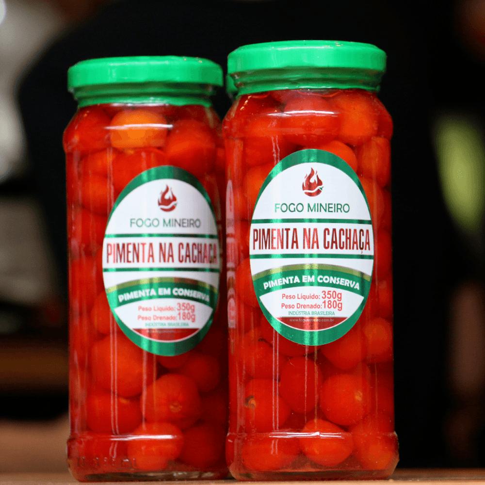 Pimenta na Cachaça - Fogo Mineiro