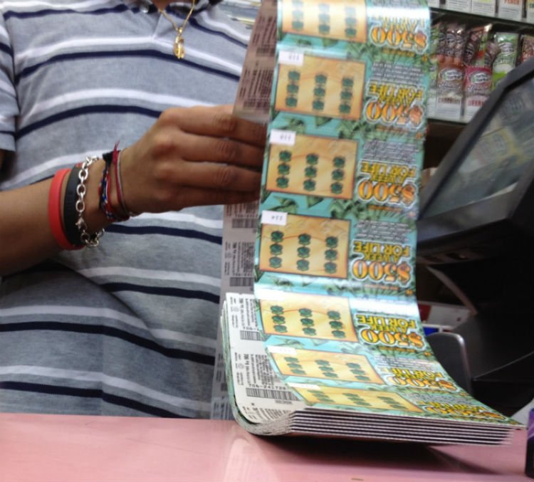 Counting 100 Lottery Tickets