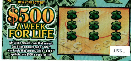$100 Invested in 100 $1 Lottery Tickets – Investing Education