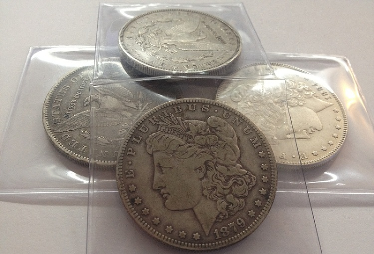 $100 Invested in Morgan Peace Silver Dollars