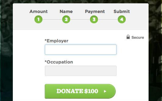 Enter employer