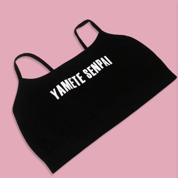 Yamete Senpai Bralettes - Crop Tops -Goodgirl Bra - Lingerie