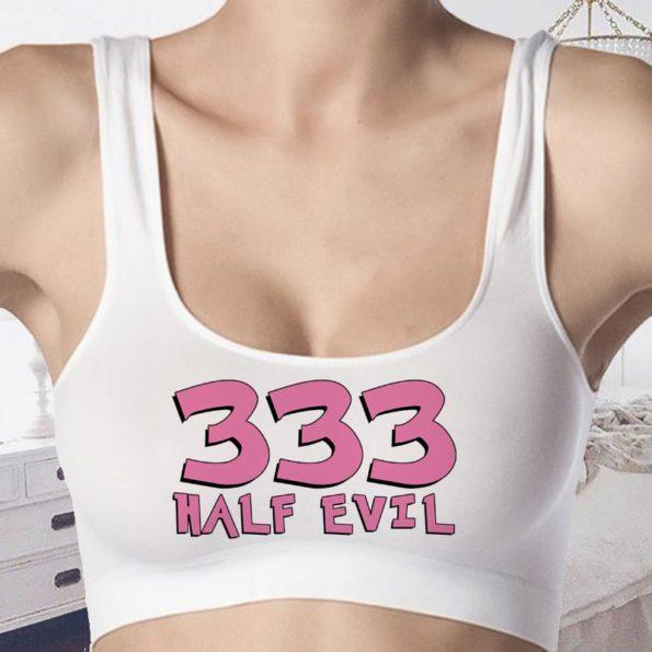 333 Half Evil Bralettes- Croptops – Tank Top - Bra