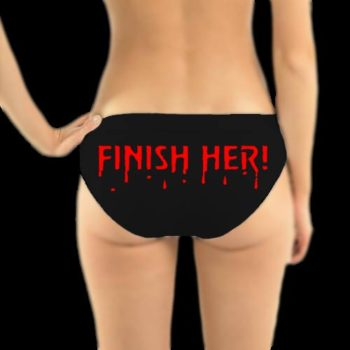 Mortal Kombat Undies -Finish Her Panties - Knickers