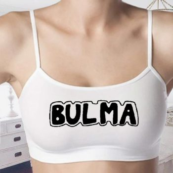Bulma Bralettes - Dragon Ball Bra - Dragon Ball Crop Tops