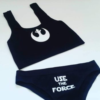 Star Wars Rebels Use the Force Lingerie, Panties, Underwear Croptops