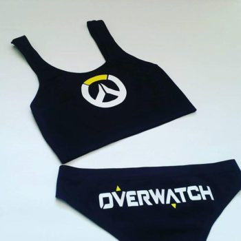 Overwatch Lingerie, Panties, Underwear Croptops
