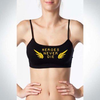 Overwatch Heroes Never Die Mercy Croptops - Bralettes
