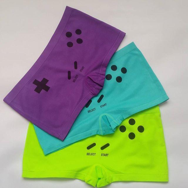 Gameboy Boyshorts - Game Console Undergarment - Lingerie